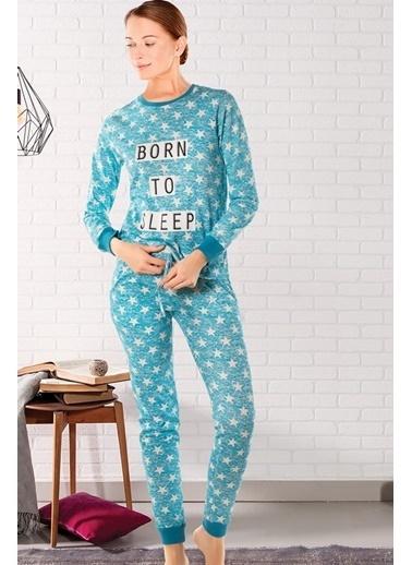 Doremi Pijama Takım Turkuaz